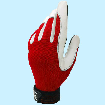 TVC-301 Swine Leather Gloves, Hook and Loop Fastener