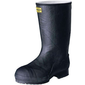 Light Safety Rubber Boots LSW-02 Black