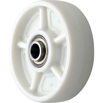 PBD type nylon wheel (stainless steel bearing pieces)