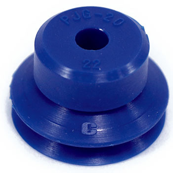 Vacuum pad (bellows / rubber only) PJG series urethane