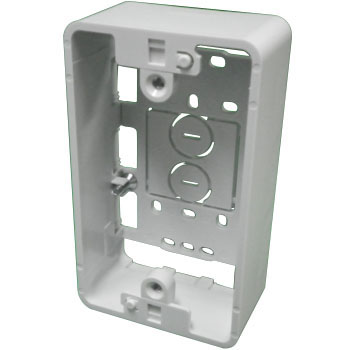 Outlet Mounting Box, Single Gang