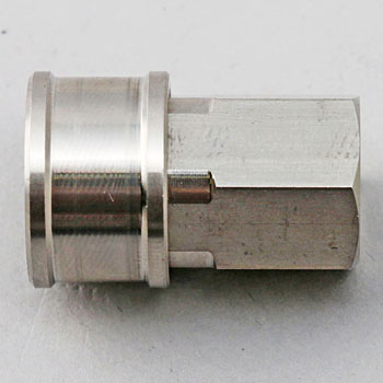 Valveless Coupler Socket