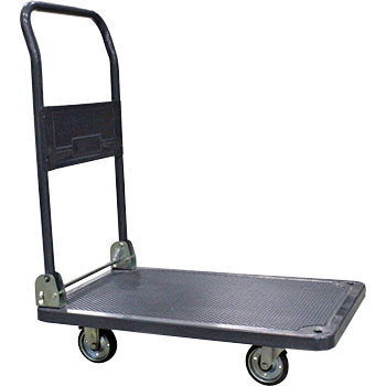 Platform Trolley with Brake Pedal