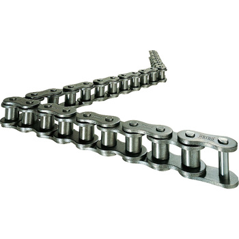 RS roller chain for a joint link three rows