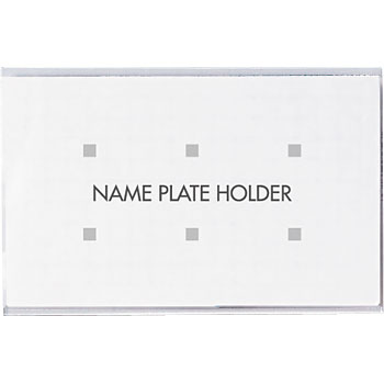 Name badge open industries pins clip type monotaro for Full name of pi