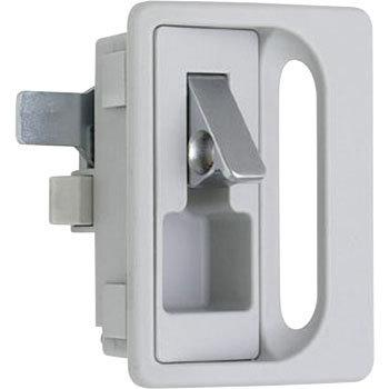 Locker lock with a keyhole with a pull-tab