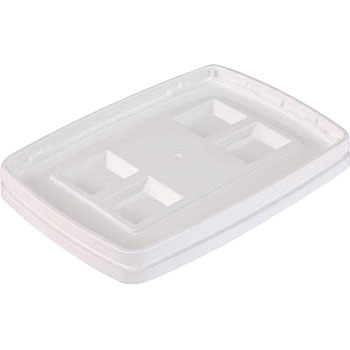 Sanper K-N Lid, Packing, White