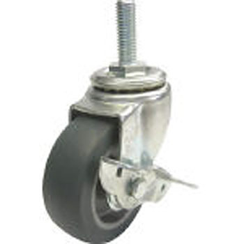 Screw-type ST freely Cars (Long screw type) with stopper (elastomer wheel)
