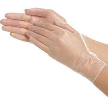 Very Thin Vinyl Powder Gloves No.801