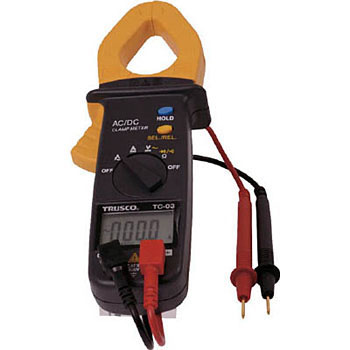 Clamp Meter, AC-DC Current Measurement