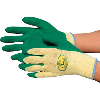 Natural Rubber Gloves, Unlined Back