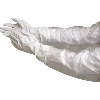 Thin Vinyl Glove with Arm Cover