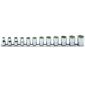 Non Sparking Safety Socket Set, 12 Angles