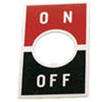 On-Off Switch Plate