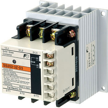 DC operation type electromagnetic contactor (without case cover) SC series