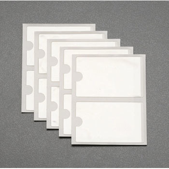 95x60mm Adhesive With A Business Card Holder10 Sheets Esco File