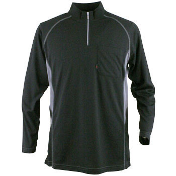 COOL and DRY ZIP UP Long Sleeved Shirt