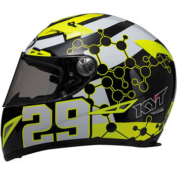 C5 Andrea Iannone Replica Yellow KYT Full Face MonotaRO Singapore TCKC5001XS