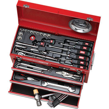 TOOL SET (CHEST TYPE, 54pcs.)