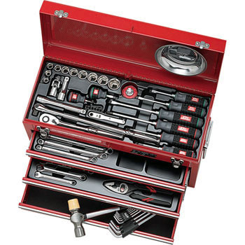 TOOL SET (CHEST TYPE, 58pcs.)