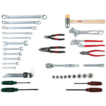 "1/2""sq. INDUSTRIAL TOOL SET (41pcs.)"