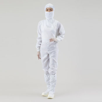Cleanroom Coverall Hood Separately, Side Fastener Type, CL100