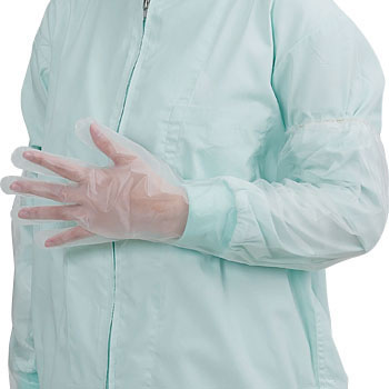 Polyethylene Embossed Gloves Long