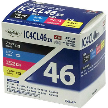 General Ink Cartridge IC46 Type
