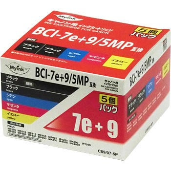 General Ink Cartridge BCI-7e 4 color + BCI-9BK Multi Pack