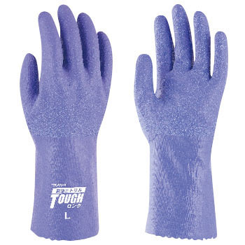 Oil Resistant Long Nitrile Gloves No.549