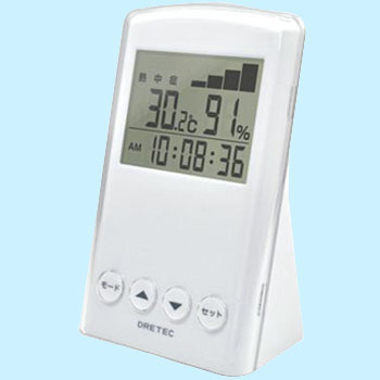 Heat Stroke Flu Warning Meter