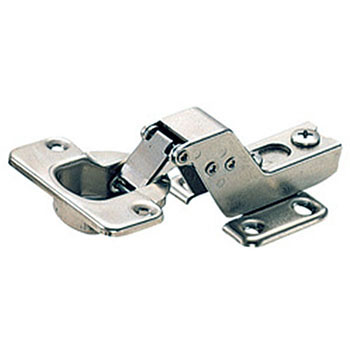 Inset with a slide hinge catch