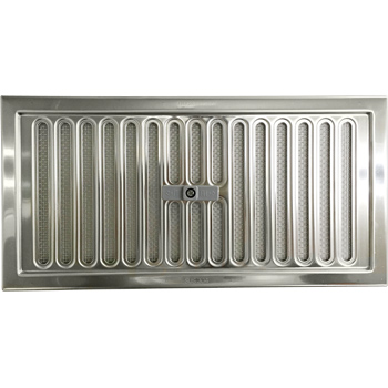 Stainless Steel Vent For Underfloor, Slide Open