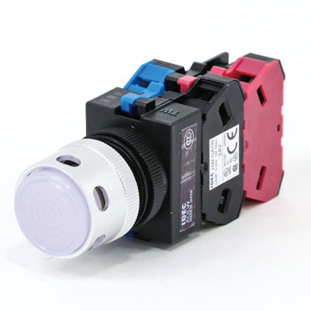 TW series Illuminated pushbutton switch Projection Full guard included (LED) Alternate type