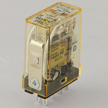 RH-type power relay blade terminal type