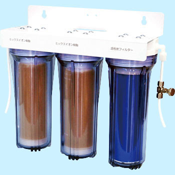 Ion Exchange Deionizer, Pre-processing Filter