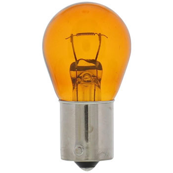 Replacement Bulb, 24V Single Amber, S25