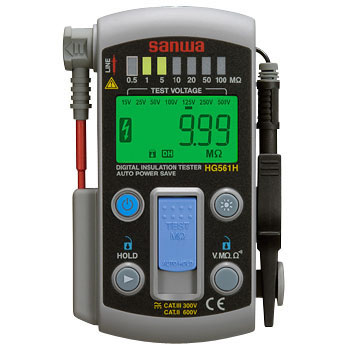 7 Range Digital Insulation Resistance Meter