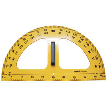 Large Protractor A Type, Resin