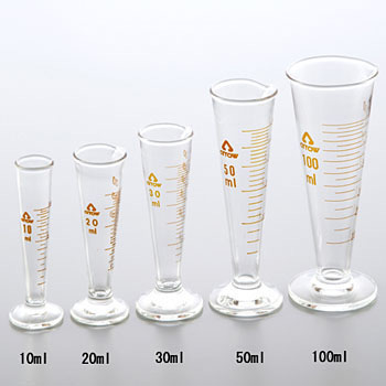 Fluid Volume Meter Cone Type, High Glass