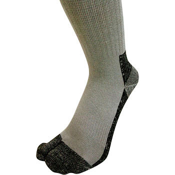 Tabi Charcoal Socks