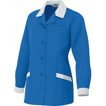 AZ - 6366 Ecological interlock women's long sleeve smock (for autumn winter)