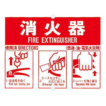 Fire-Extinguisher Indicator