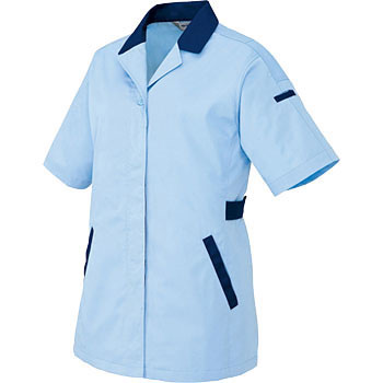 AZ-5328 Mudon cut short-sleeved smock (for spring and summer)