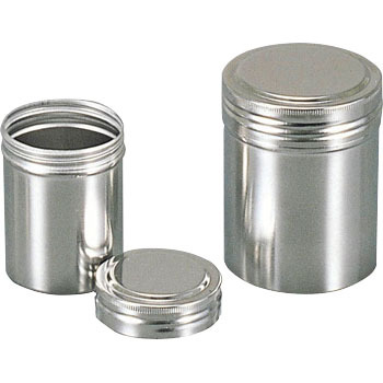 Stainless steel storage container screw cap KENIS Storing Can