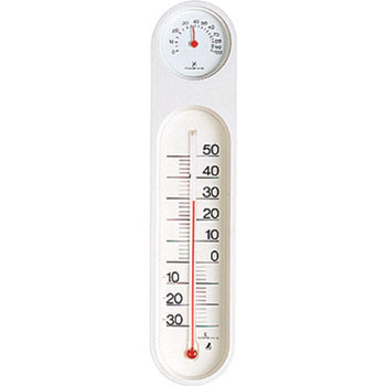 Thermohygrometer PC Oval