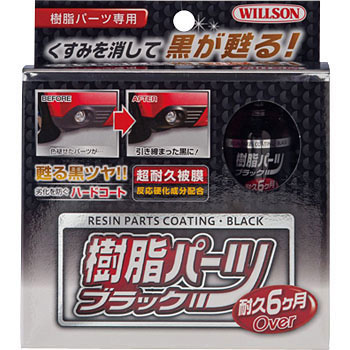 Black Resin Part Coating