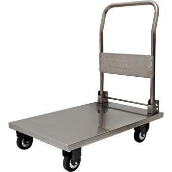 Stainless Folding Platform Trolley