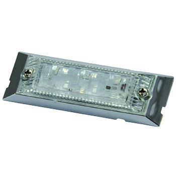 24V LED6 ULTRA F.LAMP AMBER/AMBER