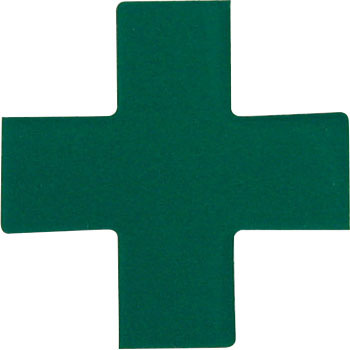 Green Cross Sticker